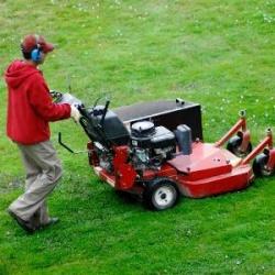 Žolės pjovimas kaina